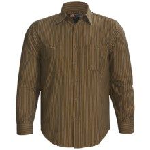 Kakadu Monash Shirt - Button Front, Long Sleeve (For Men) in Mustard - Closeouts