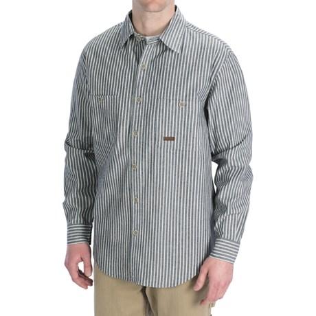 Kakadu Monash Shirt - Button Front, Long Sleeve (For Men) in Natural