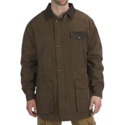 Kakadu Pilbara Jacket - Gunn-Worn Canvas (For Men) in Tobacco