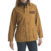 Kakadu Pilbara Jacket - Gunn-Worn Canvas (For Women) in Mustard - Closeouts