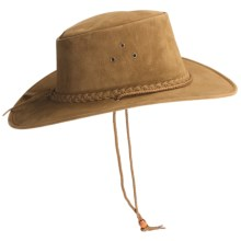 Kakadu Soaka Hat - UPF 50+, Microsuede (For Men and Women) in Khaki - Closeouts