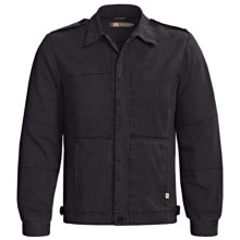 Kakadu Traveller Jacket - Gravel Canvas (For Men) in Petrol - Closeouts
