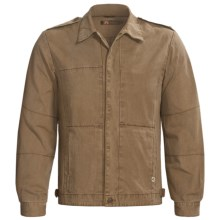 Kakadu Traveller Jacket - Gravel Canvas (For Men) in Tobacco - Closeouts