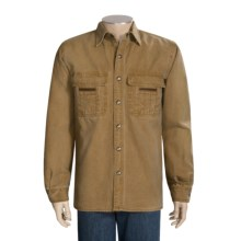 Kakadu Union Canvas Shirt - Long Sleeve (For Men) in Mustard - Closeouts