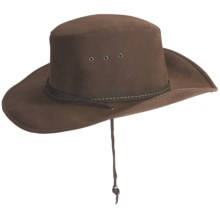 Kakadu Western Plain Soaka Hat - UPF 50+ (For Men and Women) in Brown - Closeouts