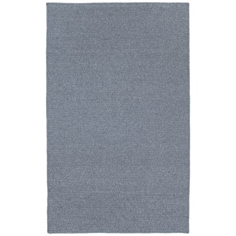 Kaleen Bikini Collection Indoor/Outdoor Rug - 8x11' in Azure