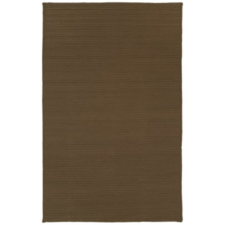 Kaleen Bikini Collection Indoor/Outdoor Rug - 8x11' in Chocolate