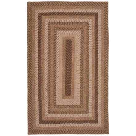 Kaleen Bimini Collection Indoor-Outdoor Area Rug - 5x8' in Mocha - Closeouts