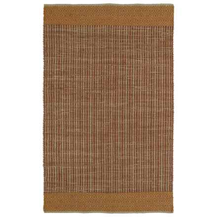 Kaleen Colinas Jute and Wool Accent Rug - 3x5' in Paprika - Closeouts