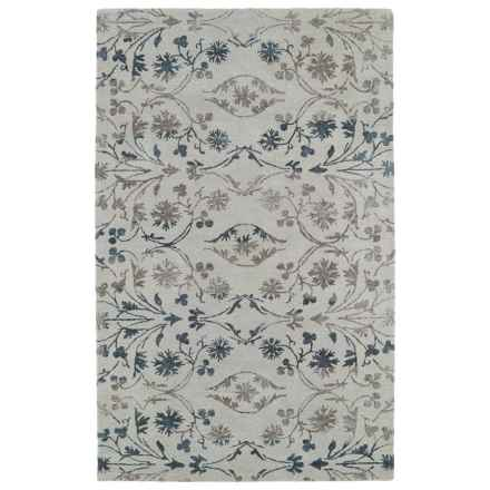 "Kaleen Divine Accent Rug - 3'6""x5'6"" in Linen - Closeouts"