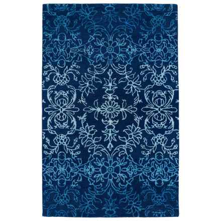 "Kaleen Divine Area Rug - 5'x7'9"" in Blue - Closeouts"