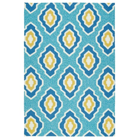 Kaleen Escape Geometric Indoor Outdoor Area Rug 5x7.5