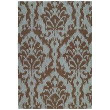 "Kaleen Habitat Indoor/Outdoor Area Rug - 5'x7'6"" in Sea Spray Mocha - Closeouts"