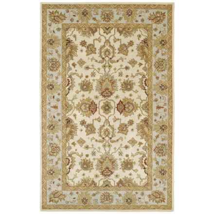 Kaleen Heirloom Collection Accent Rug - 4x6' in Heather Ivory - Overstock