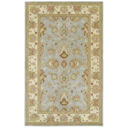 Kaleen Heirloom Collection Accent Rug - 4x6' in Heather Spa - Overstock