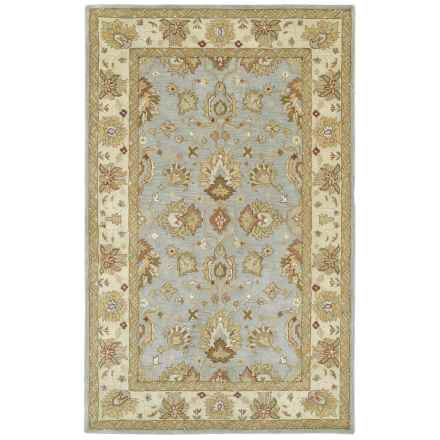 "Kaleen Heirloom Collection Area Rug - 5'x7'9"" in Heather Spa - Overstock"
