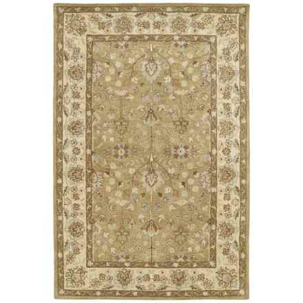 Kaleen Heirloom Collection Area Rug - 8x10' in Katherine Camel - Overstock