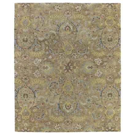 Kaleen Helena Collection Accent Rug - 2x3' in Athena Gold - Overstock