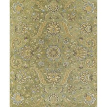Kaleen Helena Collection Accent Rug - 2x3' in Virgil Green - Overstock