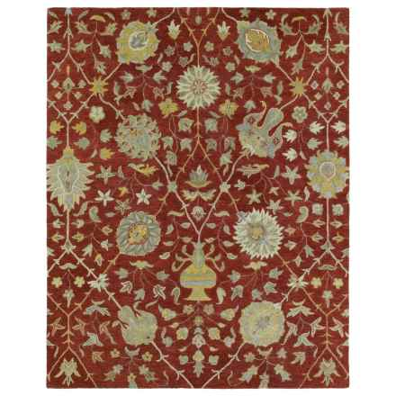 "Kaleen Helena Collection Area Rug - 5'x7'9"" in Aphrodite Red - Overstock"