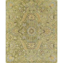 "Kaleen Helena Collection Area Rug - 5'x7'9"" in Virgil Green - Overstock"
