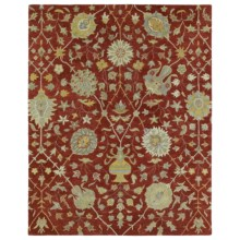 Kaleen Helena Collection Area Rug - 9x12' in Aphrodite Red - Overstock
