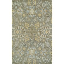 Kaleen Helena Collection Area Rug - 9x12' in Sage - Overstock