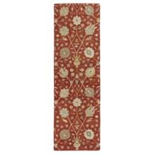 """Kaleen Helena Collection Floor Runner - 2'6""""x8' in Aprodite Red - Overstock"""