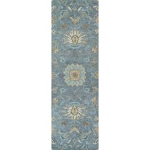 "Kaleen Helena Collection Floor Runner - 2'6""x8' in Mint - Overstock"