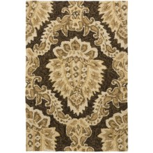 Kaleen Home & Porch Collection Accent Rug - 2x3' in Cedar Hammock Brown - Closeouts