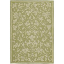 Kaleen Home & Porch Collection Accent Rug - 2x3' in Presley Celery - Closeouts