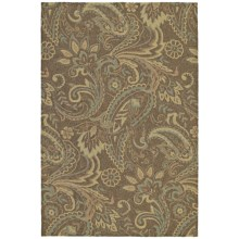 Kaleen Home & Porch Collection Accent Rug - 2x3' in Rivers End Mocha - Closeouts