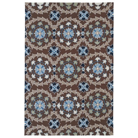 Kaleen Home and Porch Collection Indoor Outdoor Accent Rug 3x5