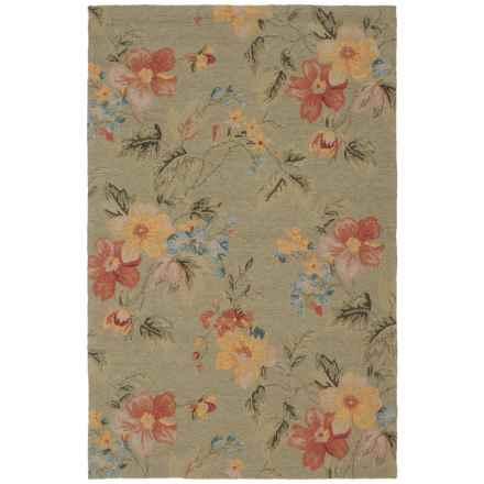 "Kaleen Home and Porch Collection Saint Juliean Indoor-Outdoor Area Rug - 5'x7'6"" in Blue - Closeouts"