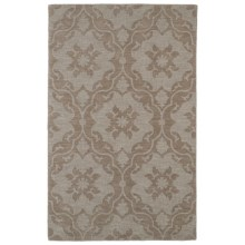 Kaleen Imprints Classic Collection Accent Rug - 2x3', Hand-Tufted Wool in Medallion Light Brown - Overstock