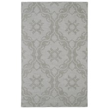 Kaleen Imprints Medallion Area Rug - 8x11', Hand-Tufted Wool in Medallion Beige - Overstock