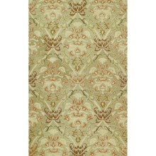 Kaleen Khazana Collection Accent Rug - 2x3', Wool in Iona Nutmeg - Closeouts