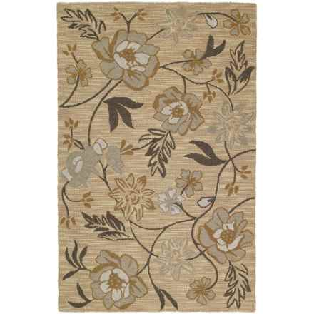 Kaleen Khazana Collection Accent Rug - 2x3', Wool in Mackinac Gold - Closeouts