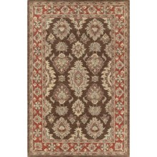 Kaleen Khazana Collection Accent Rug - 2x3', Wool in Negril Coffee - Closeouts