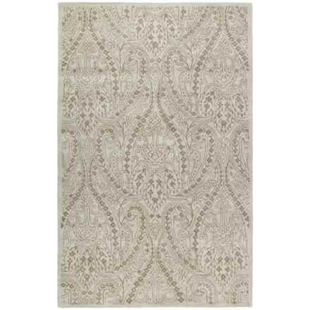 Kaleen Khazana Collection Accent Rug - 2x3', Wool in Teresa Ivory - Closeouts