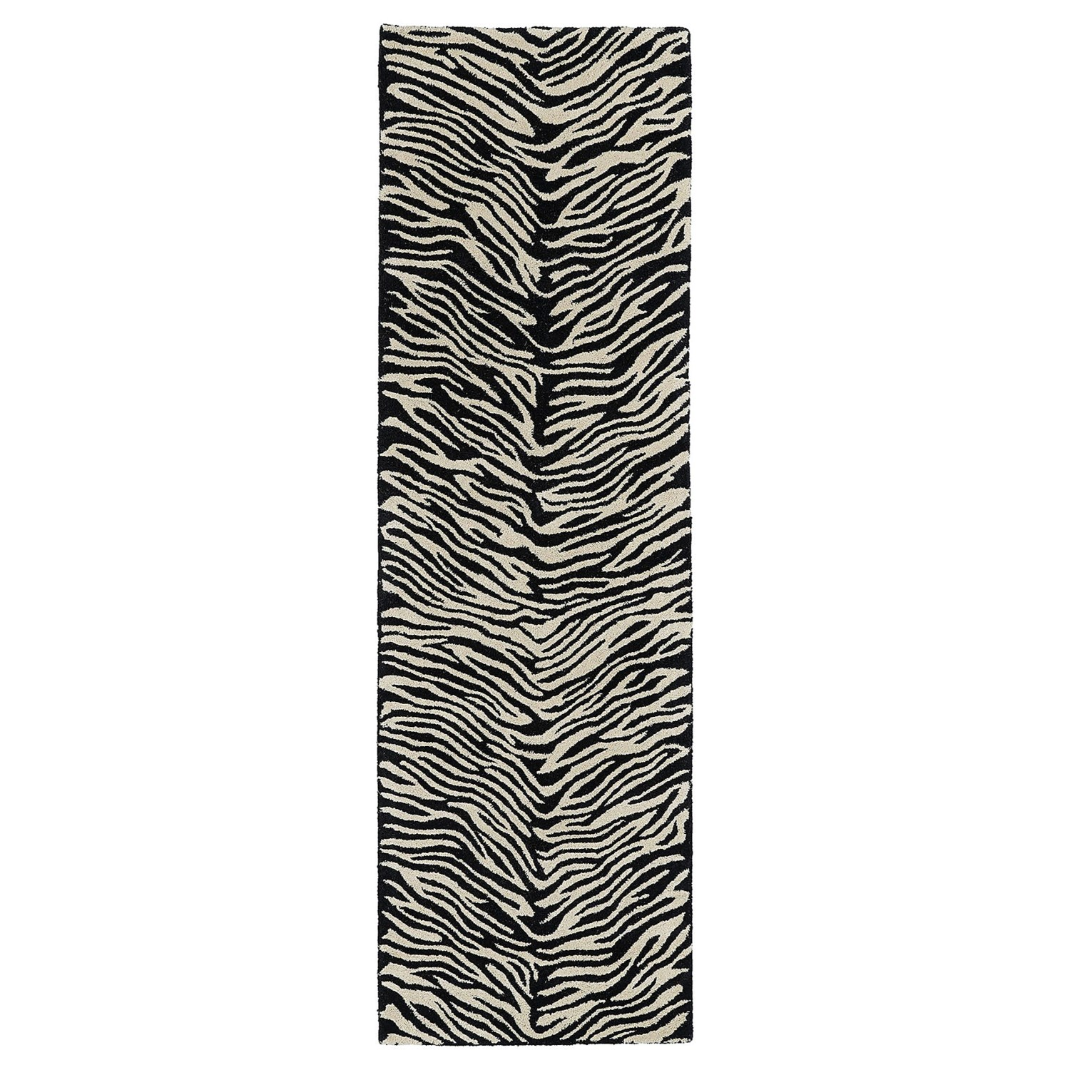 Kaleen khazana collection animal print wool floor runner for Floor print