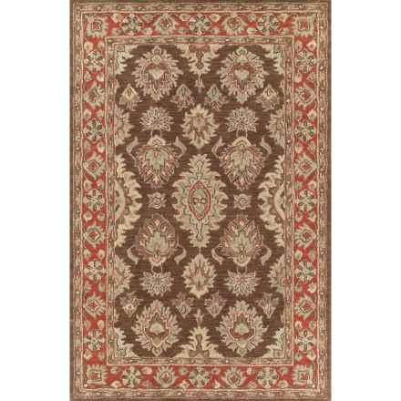 Kaleen Khazana Collection Wool Area Rug - 8x11' in Negril Coffee - Overstock