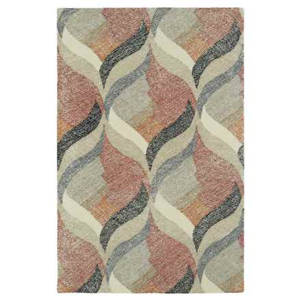 "Kaleen Montage Accent Rug - 3'6""x5'6"" in Ivory - Closeouts"