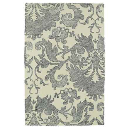 Kaleen Montage Area Rug - 8x10' in Grey - Closeouts