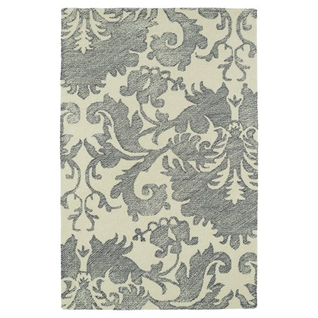 Kaleen Montage Area Rug - 8x10' in Grey