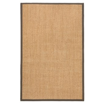 "Kaleen Natural Fiber Sisal Indoor-Outdoor Area Rug - 42x66"" in Brown"