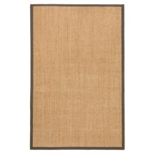 Kaleen Natural Fiber Sisal Indoor-Outdoor Area Rug - 5x8' in Brown - Closeouts
