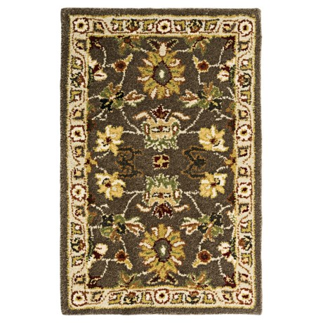 Kaleen Presidential Picks Wool Accent Rug - 2x3' in Bethesda Mink