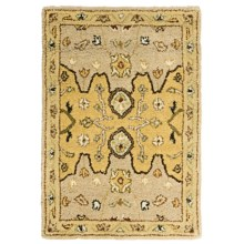 Kaleen Presidential Picks Wool Accent Rug - 2x3' in Wormsloe Cream - Closeouts