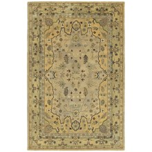 "Kaleen Presidential Picks Wool Area Rug - 3'6""x5'6"" in Wormsloe Cream - Closeouts"